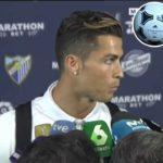 Cristiano Ronaldo As pessoas falam de mim mas não sabem um carajo