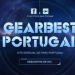 NOVIDADE: Gearbest lança site dedicado a Portugal c/ 2 anos de garantia e não só
