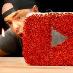Nuno Agonia em mais uma experiência louca: logotipo do Youtube com fósforos