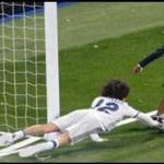 Vê o golaço que o filho do Cristiano Ronaldo fez na festa no Bernabéu