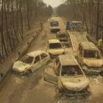 Novas imagens de drone: o cenário de destruição provocado pelo fogo